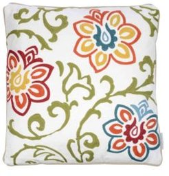 Home Clementine Embroidered Floral Pillow Bedding