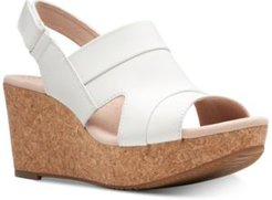 Collection Women's Annadel Ivory Wedge Sandals Women's Shoes