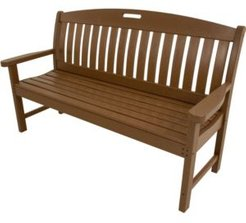 """Avalon All-Weather 60"""" Porch Bench - 37.5"""" x 63.75"""" x 72"""""""
