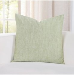 "Pacific Sea Spray Linen 16"" Designer Throw Pillow"