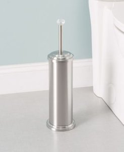 Stainless Steel Toilet Brush Holder with Diamond Top Bedding