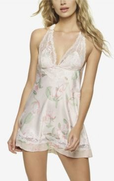 Muse Satin and Lace Chemise