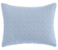 Mila Chambray Blue Breakfast Pillow Bedding