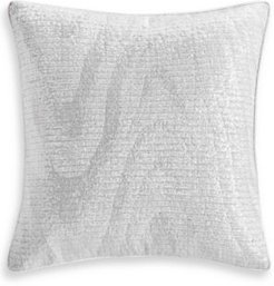 """Closeout! Hotel Collection Moire 18"""" x 18"""" Decorative Pillow, Created for Macy's Bedding"""