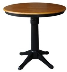 "36"" Round Top Pedestal Table - 34.9""H"