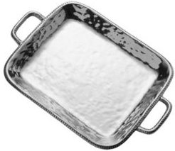 River Rock Large Rectangle Tray with Handles