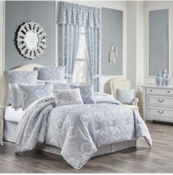 Claremont Blue King 4pc. Comforter Set Bedding