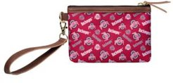 Ohio State Buckeyes Printed Collection Wristlet