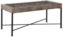 Ashley Furniture Shellmond Coffee Table with Display Case