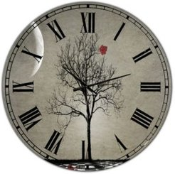 """Inevitable Large Cottage Wall Clock - 36"""" x 28"""" x 1"""""""