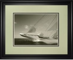 "Sea Spray Ii by Michael Kahn Framed Print Wall Art, 34"" x 40"""