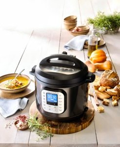 Duo Nova Black Stainless Steel 6-Qt. 7-in-1 One-Touch Multi-Cooker, Created for Macy's