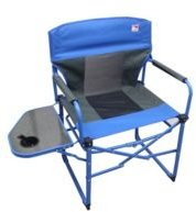 Heavy Duty Ultra Portable Folding Director Mesh Camp Chair