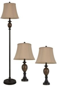 Decor Therapy Mae Table and Floor Lamp Set Set of 2