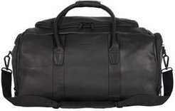 "Colombian Leather 20"" Single Compartment Top Load Travel Duffel Bag"