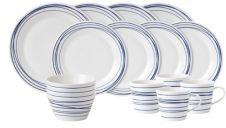 Pacific Lines 16-Pc Dinnerware Set, Service for 4