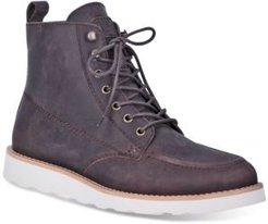 Harpo Wedge Lace Up Boot Men's Shoes