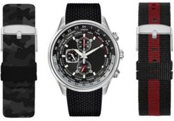 Interchangeable Strap Watch 45mm Gift Set