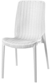 Rue Stackable Rattan Dining Chair, Set of 4