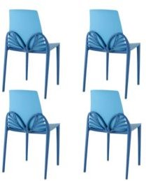 Papillon Dining Chair, Set of 4