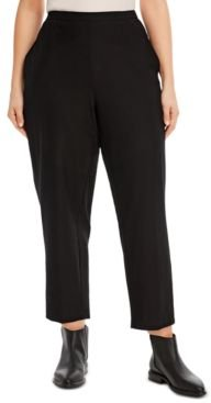 System Plus Size Pull-On Pants
