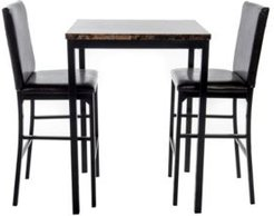 Ellie Counter Height Bistro Set, 3 Piece