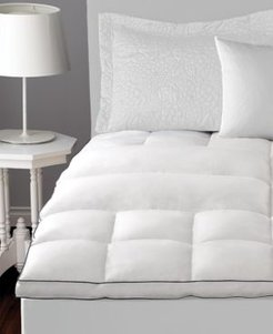 Pacific Coast Deluxe Lumbar Feather Bed Mattress Topper, Twin