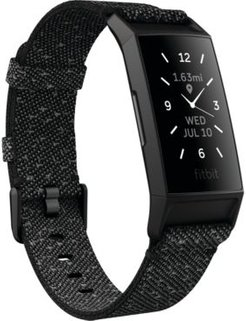 Charge 4 Se Granite Band Touchscreen Smart Watch 22.6mm