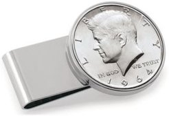 Jfk 1964 First Year of Issue Half Dollar Stainless Steel Coin Money Clip
