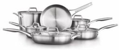 Premier Stainless Steel 11-Pc. Cookware Set