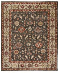 Charise-Mahal 780 Chocolate 10' x 14' Area Rug