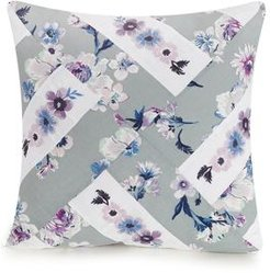 Park Stripes Piecing Embroidered Decorative Pillow