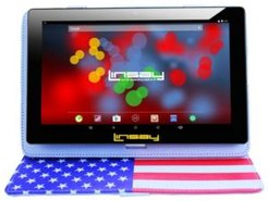 "10.1"" 1280 x 800 Ips Screen Quad Core 2GB Ram Tablet 32GB Android 10 with Usa Style Leather Case"