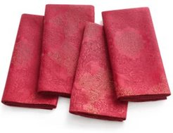 Closeout! Martha Stewart Collection Holiday Napkins, Set of 4, Created for Macy's