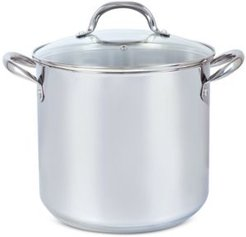 20-Qt. Stainless Steel Stock Pot with Lid, Created for Macy's