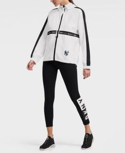 Dkny Women's New York Yankees Chrissy Windbreaker