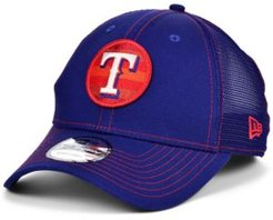 Texas Rangers Logo Fill Trucker 9FORTY Cap