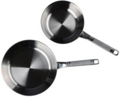Selects Voyage Series Tri-Ply Stainless Steel 2-Pc. Fry Pan Set