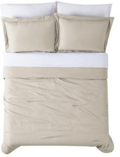 Antimicrobial 7 Piece Bed in a Bag, King Bedding