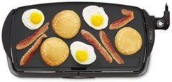 """10.5"""" x 20"""" Nonstick Electric Griddle"""
