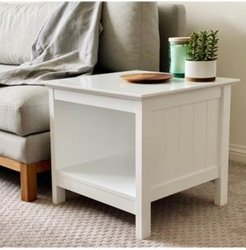 Jayleen Modern Contemporary Slat Style End Table