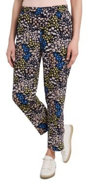 Louisa Floral-Print Pants, Created for Macy's