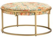 Melissa Round Printed Coffee Table