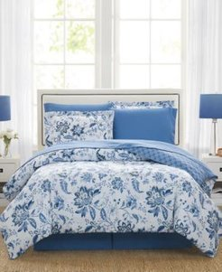 Diana 6-Pc. Reversible Twin Comforter Set, Created for Macy's Bedding