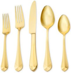 Argent Orfevres Hampton Forge Belvoir Gold 18/10 Stainless Steel 5-Pc. Place Setting