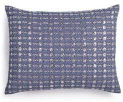 "Metallic Stitched 12"" x 16"" Decorative Pillow Bedding"