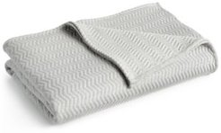 Closeout! Lacoste Home Cotton Chevron Quilted Full/Queen Coverlet Bedding
