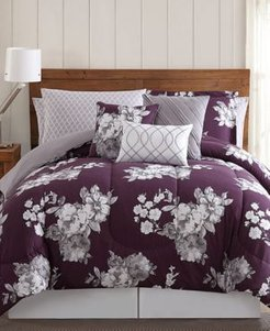 Peony Garden Floral 12-Pc. King Bedding Set Bedding