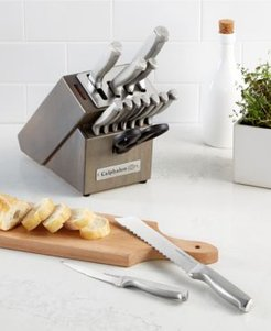 Classic 15-Pc. Self-Sharpening Stainless Steel Cutlery Block Set