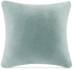 """Bree Chunky-Knit 26"""" Square European Pillow Cover"""